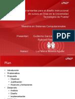 Herramientas metodológicas para el diseño instruccional de cursos en línea