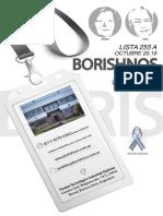 LISTA BORIS HNOS 255 29-10-2019