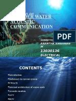 Underwater Acoustic Communication
