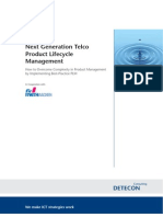 Detecon Study Next-Generation Telco Product Lifecycle Management