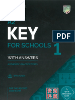 KET A2 for schools sample tests