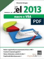 Microsoft. Excel 2013. macro e VBA. Alessandra Salvaggio