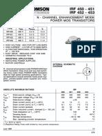 IRF450-STMicroelectronics