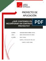 trabajo practicoDIRECCIÓN DE PROYECTOS PMI II
