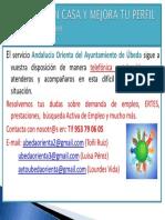 Nota Informativa Andalucia Orienta