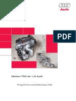 SSP 432 (Moteur TFSI de 1,4 L Audi)