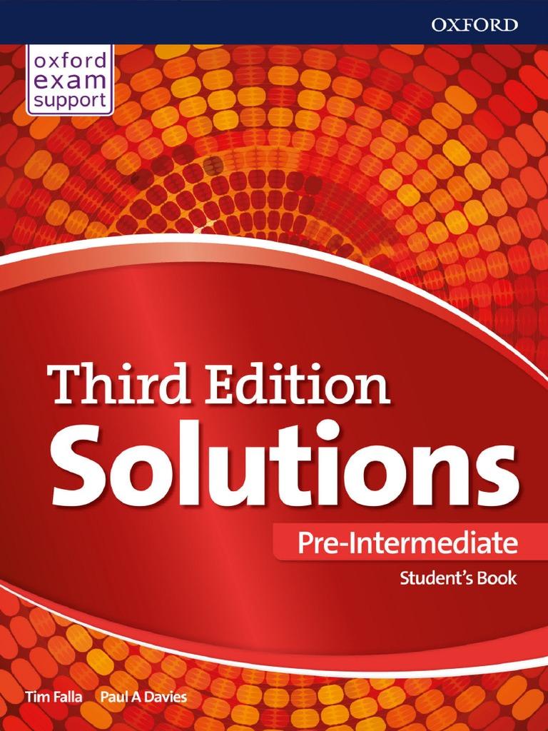 Solutions Pre Intermediate. Student&39;s Book 2017, 3rd  142p.pdf