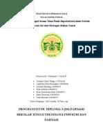 PRAKTIKUM FARMAKOLOGI II hiperlipidemia