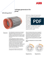 9AKK106138_Medium and high voltage generators for diesel and gas engines_Winding pitch