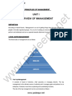 MG8591 Notes Principles of Management