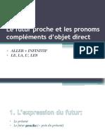 Le futur proche et les pronoms compléments d'objet.pdf