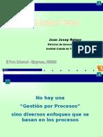 Presentacion - Gestion Basada en Procesos