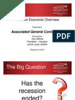 Economic Outlook for Houston 2-10-10 Ppt