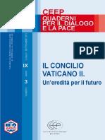 Concilio V II Eredita Per Futuro