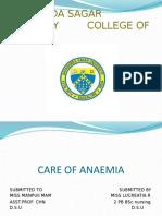 CARE  OF ANAEMIA.pptx