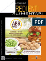 Food Design- Ingredienti Alimentari - Luglio-Agosto 2018