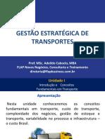 gestão estratégica de transportes