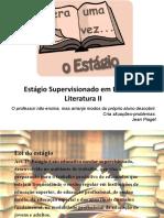 Estágio Supervisionado em Ensino de Literatura II