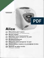DPE Alice Bread Maker