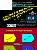 Rti Salient Features