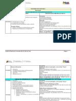Plan Semanal IDS I