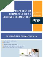2- Lesiones elementales y propedéutica