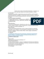 procedimiento prueba hidrostatica