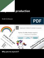 asyncio-in-production