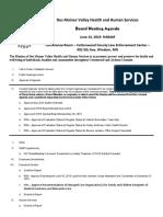 DVHHS June 13 Agenda