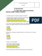 TALLER APARATO RESPIRATORIO