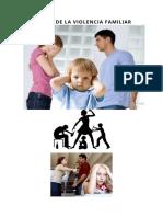 ENSAYO DE LA VIOLENCIA FAMILIAR