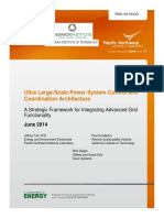 Ultra Large-Scale Power System Control and Coordination Architecture