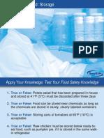 Flow of Food ServSafe