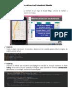 Geolocalización En Android Studio