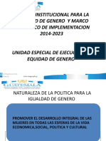 2 POLITICA DE GENERO