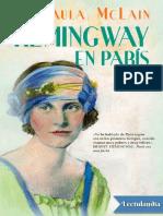 Mrs Hemingway en Paris - Paula McLain
