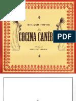 Cocina Canibal Roland Topor