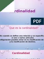 Cardinalidad