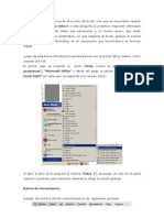 Introducción al Excel