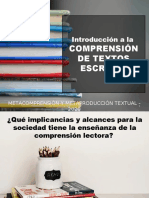 INTRODUCCIÓN COMPRENSIÓN DE TEXTOS.ppt