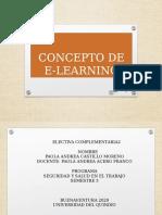 CONCEPTO DE E-LEARNING UNIDAD 3