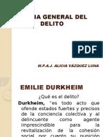 teorias del delito Durkheim a      Foucault.pptx