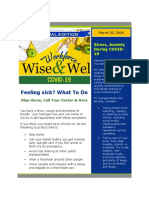 Wise Well Special Edition - COVID-19 - March 25