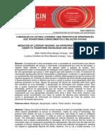 A mediação da leitura literária-uma proposta de metodologia temática