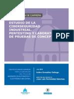 ESTUDIO DE LA CIBERSEGURIDAD INDUSTRIAL. PENTESTING Y LABORATORIO DE PRUEBAS DE CONCEPTO