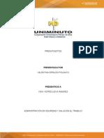 TALLER DE ANALISIS DIAGNOSTICO PRESUPUESTAL