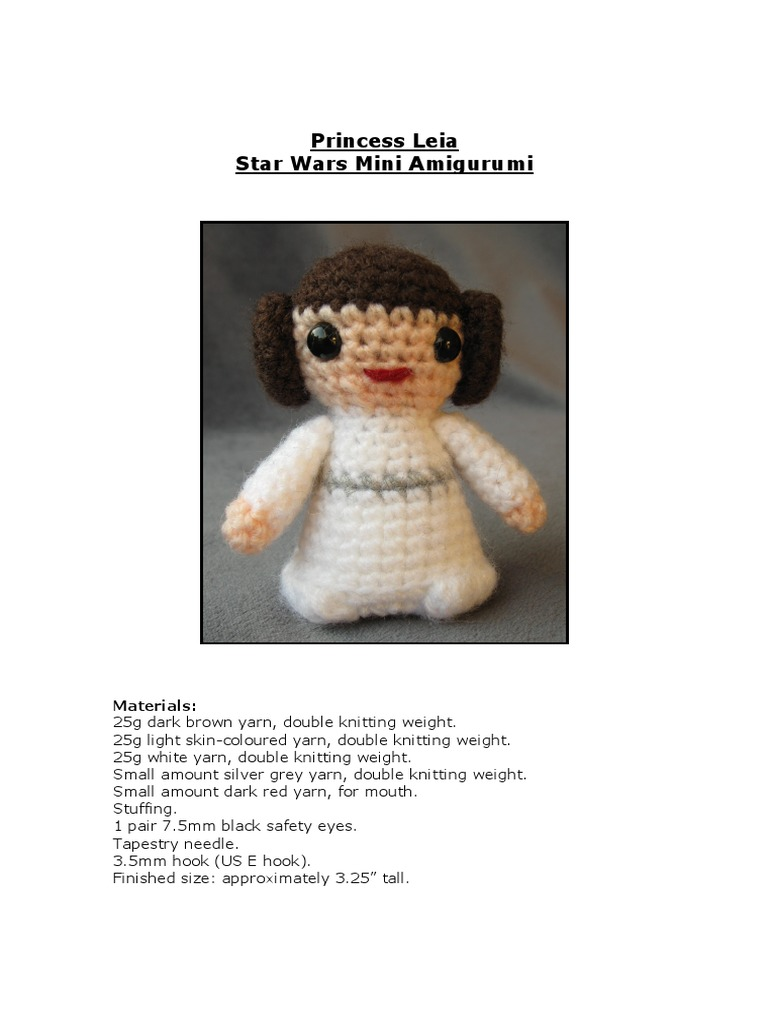 Amazon.com: Princess Leia Star Wars Inspired Lovey/ Security ... | 1024x768