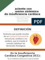 Paciente con compromiso sistémico de insuficiencia cardíaca en odontologia