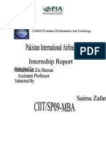 Final Report on PIA Intership