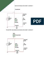 Circuito RLC serie obtención de lecturas de la tabla 1 condición 1